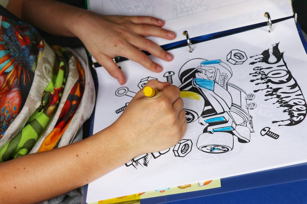 free printable coloring pages for kids road trip activity folder