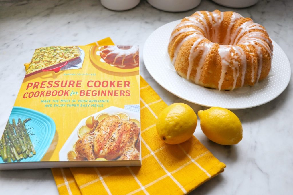 Lemon Bundt Cake recipe from Pressure Cooker Cookbook for Beginners