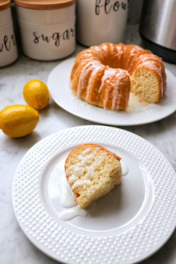Instant Pot Lemon Bundt Cake