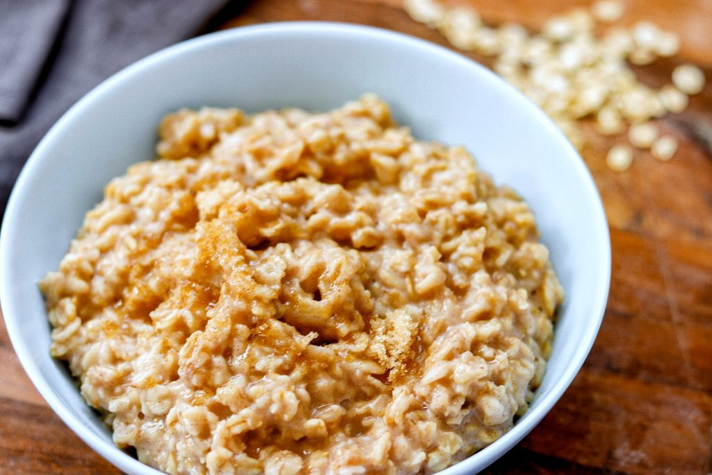 5-Ingredient Cinnamon and Brown Sugar Instant Pot Oatmeal recipe