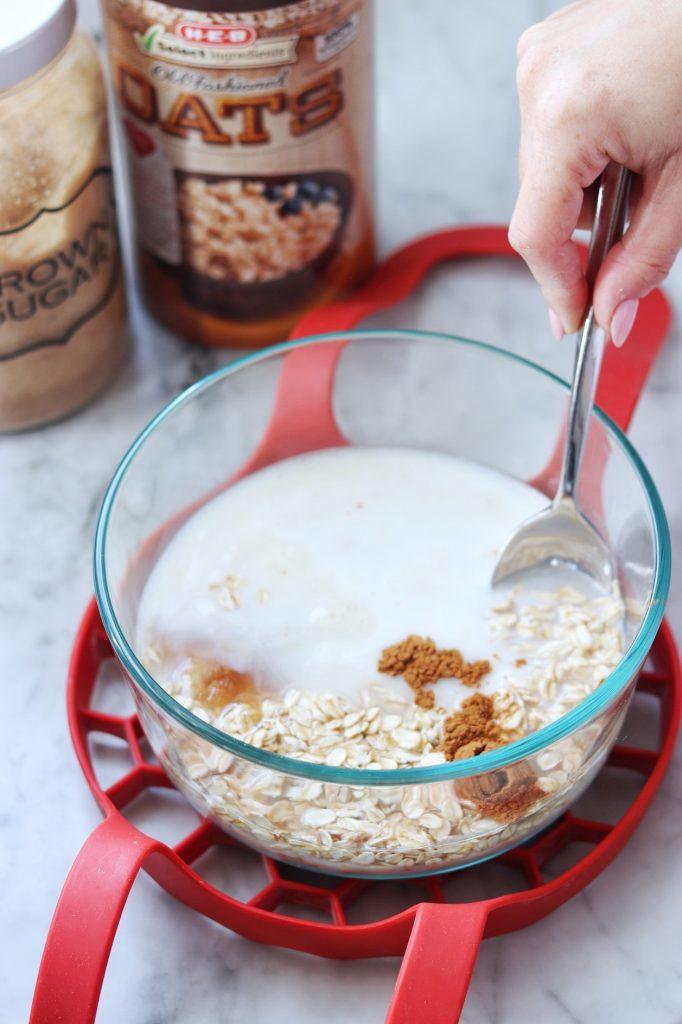 Instant Pot pot in pot oatmeal recipe