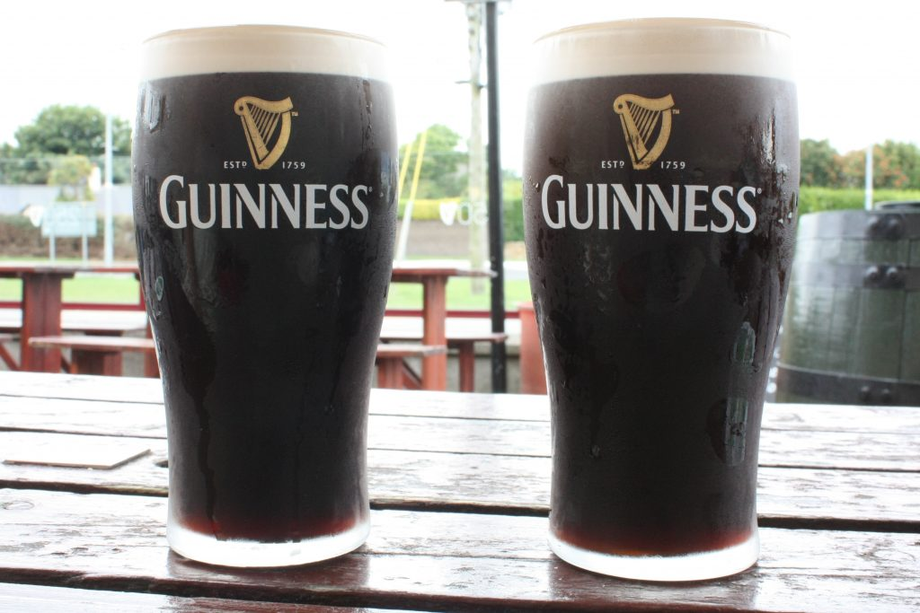 Guinness Draught in Ireland