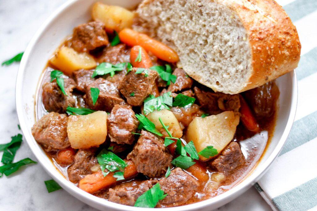 Instant Pot Irish Stout Beef Stew