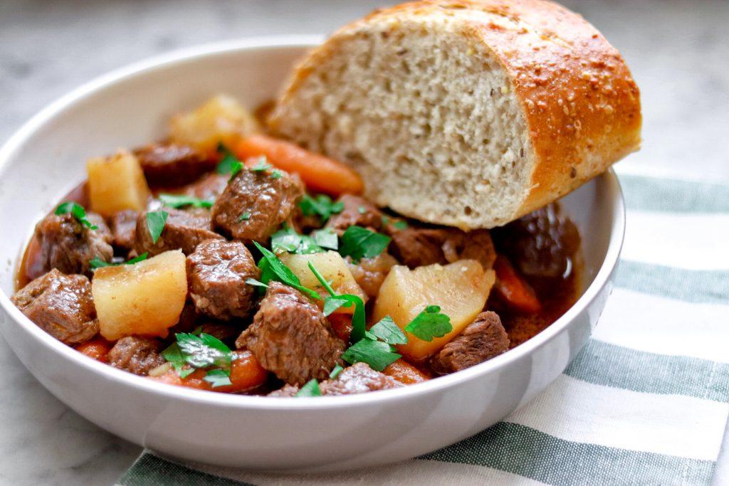 Instant Pot Irish Stout Beef Stew recipe