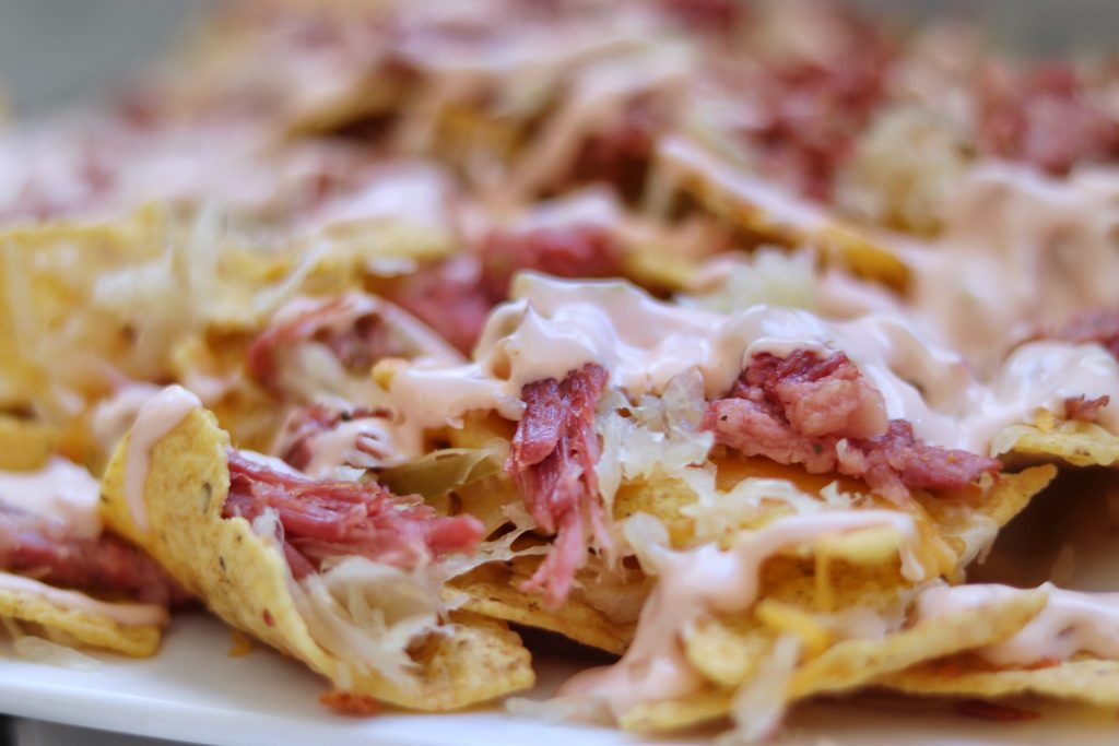 St. Patrick's Day food idea: Reuben Nachos recipe