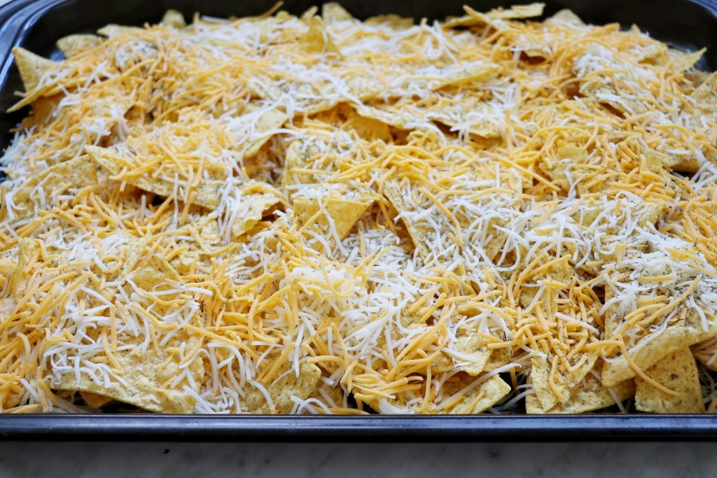 How to make Reuben Nachos for St. Patrick's day food or appetizer idea