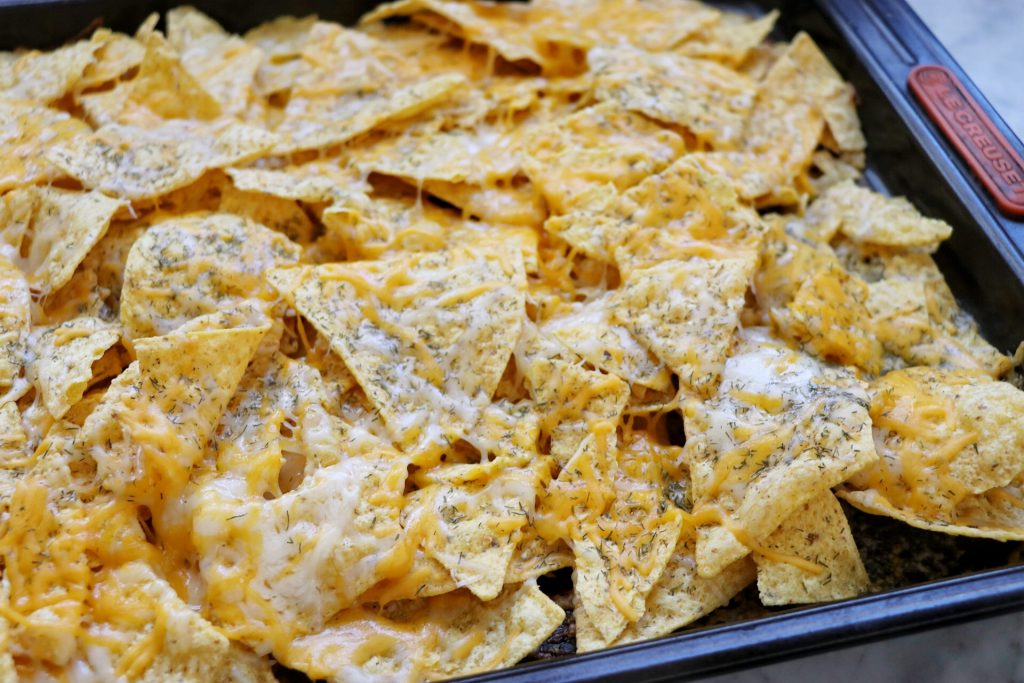 How to make homemade Reuben Nachos