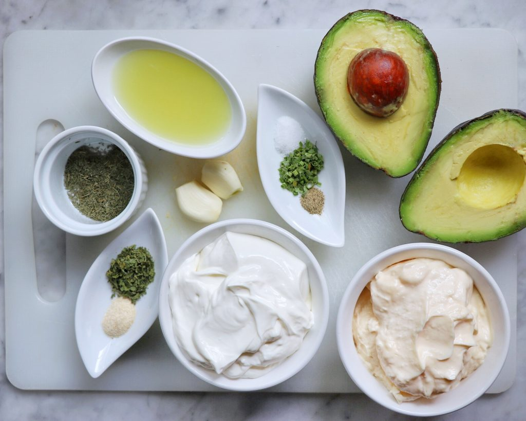 how to make avocado lime ranch dressing