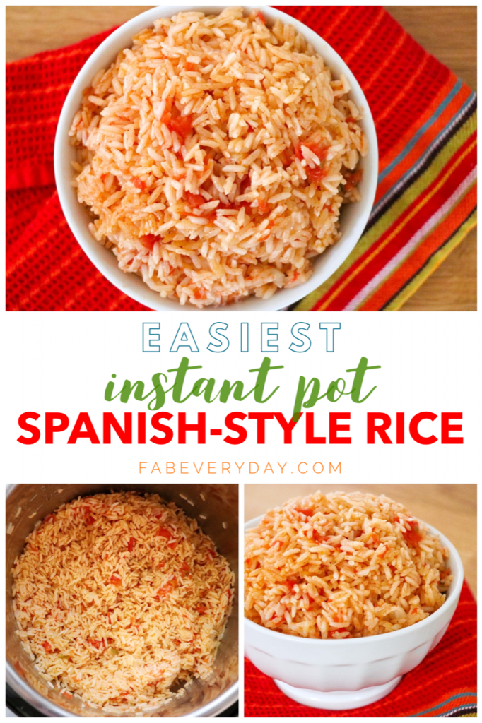 Easiest Instant Pot Spanish-Style Rice recipe