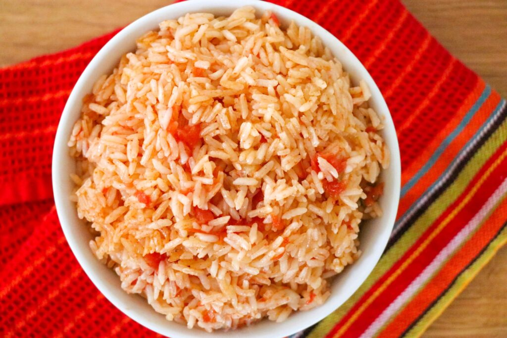 Quick, easy, and delicious Instant Pot Spanish rice recipe