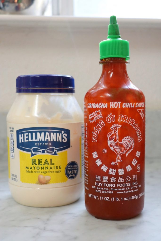 How to make Sriracha mayo
