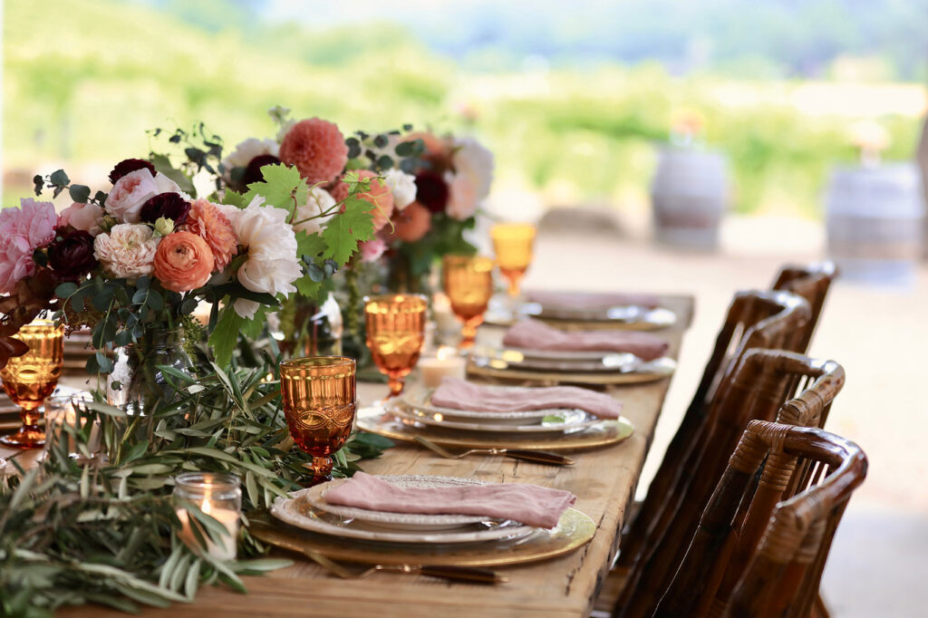 French table setting from French Country Cottage Inspired Gatherings by Courtney Allison