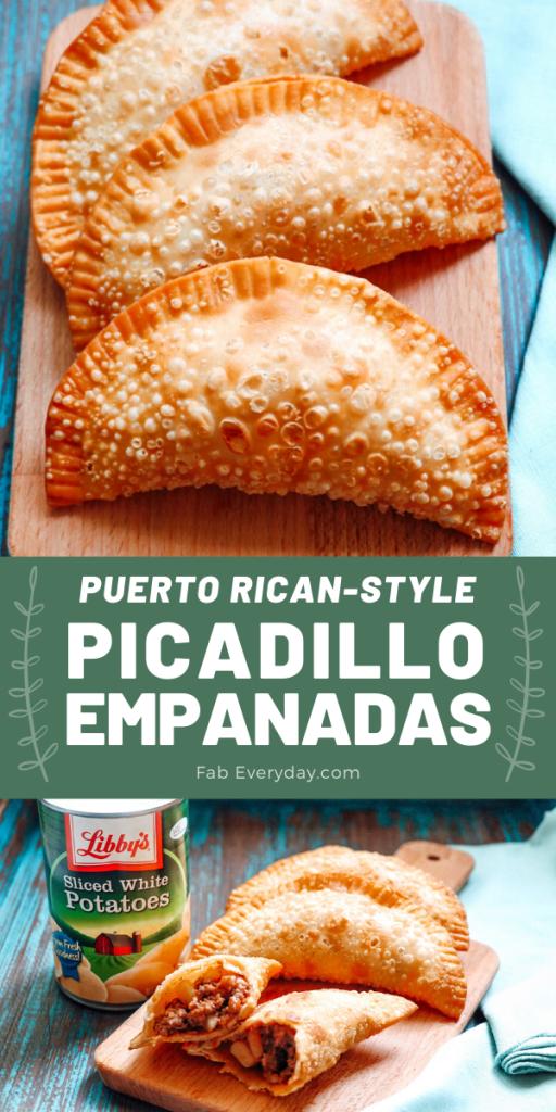 Shortcut Puerto Rican Picadillo Empanadas Recipe
