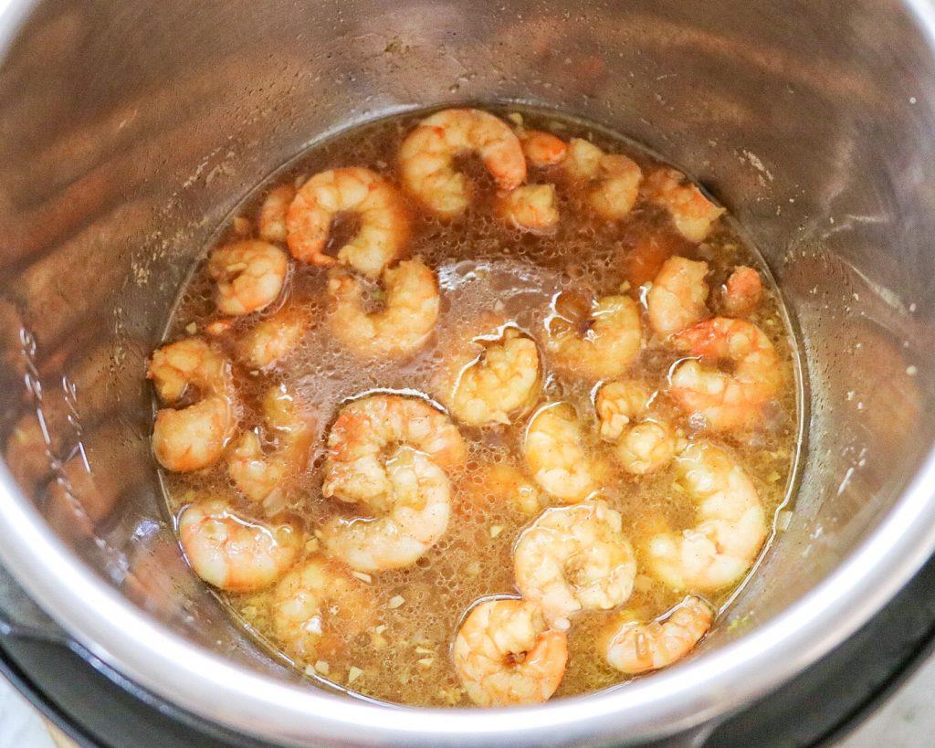 Instant Pot shrimp scampi recipes - Asian-Style Shrimp Scampi