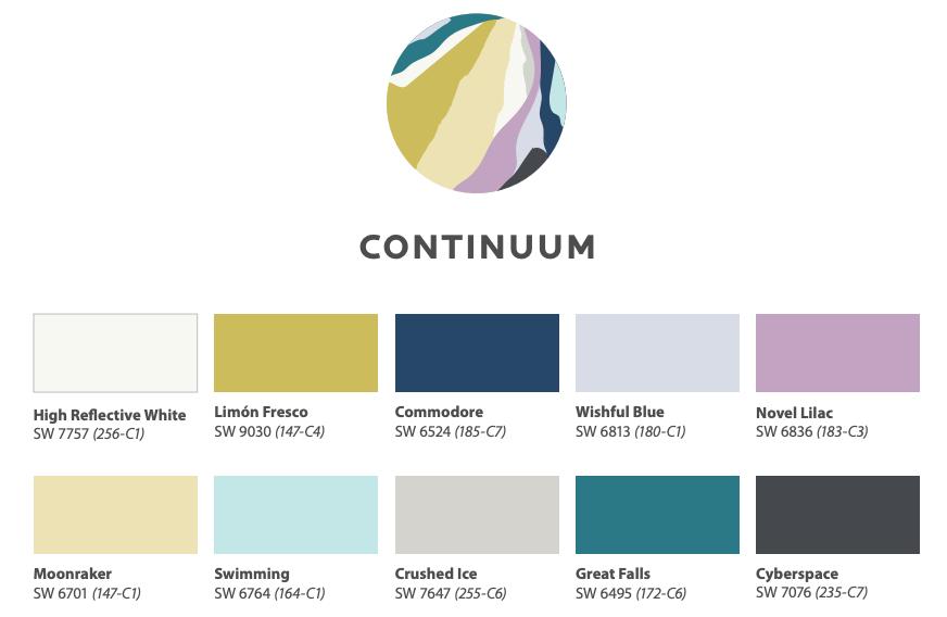 Color Trends 2021: Continuum