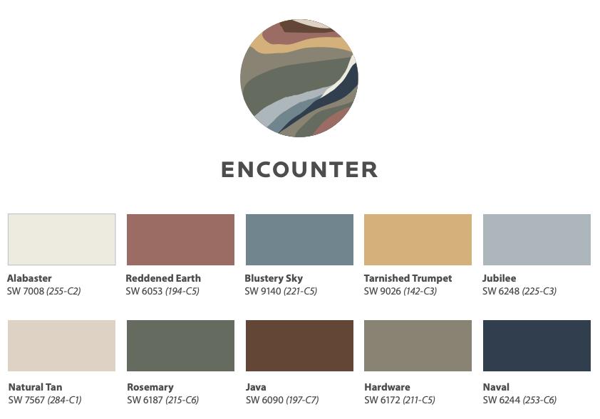 Color Trends 2021: Encounter