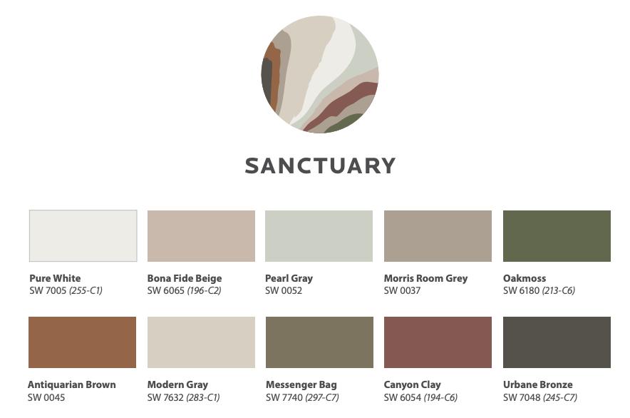 Color Trends 2021: Sanctuary