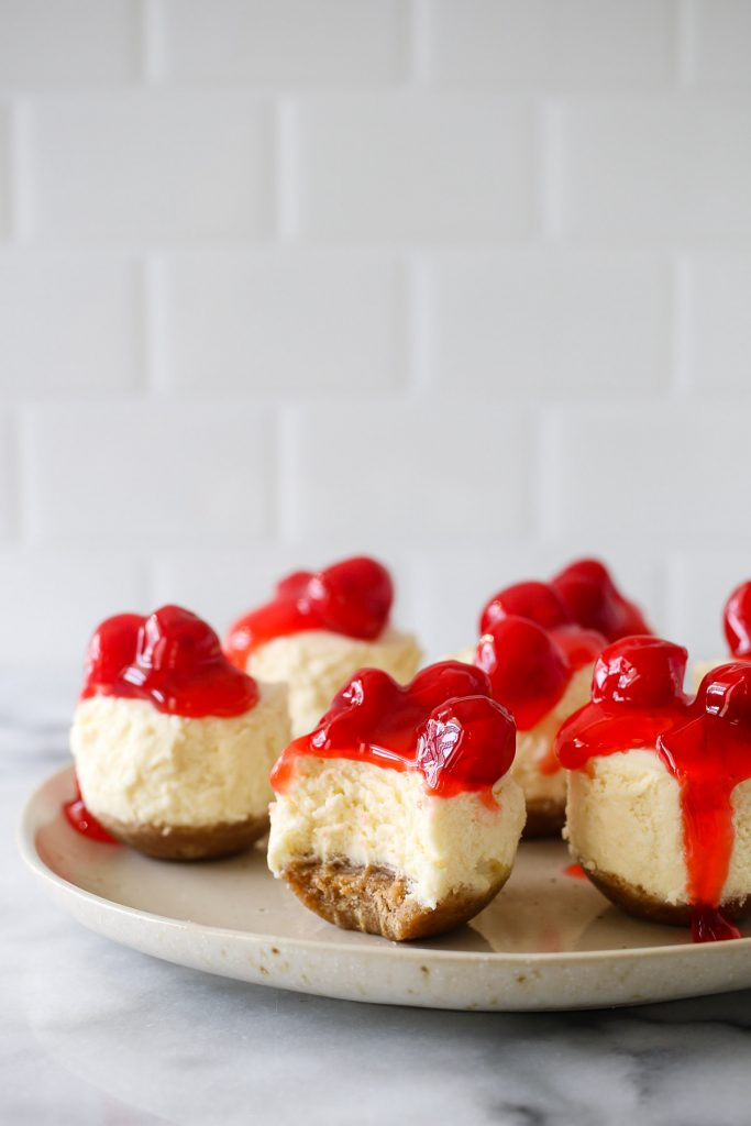 Instant Pot silicone mold recipes: Instant Pot Mini Cheesecake Bites
