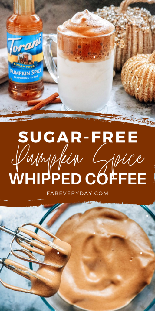 Pumpkin Spice Sugar Free Whipped Coffee recipe