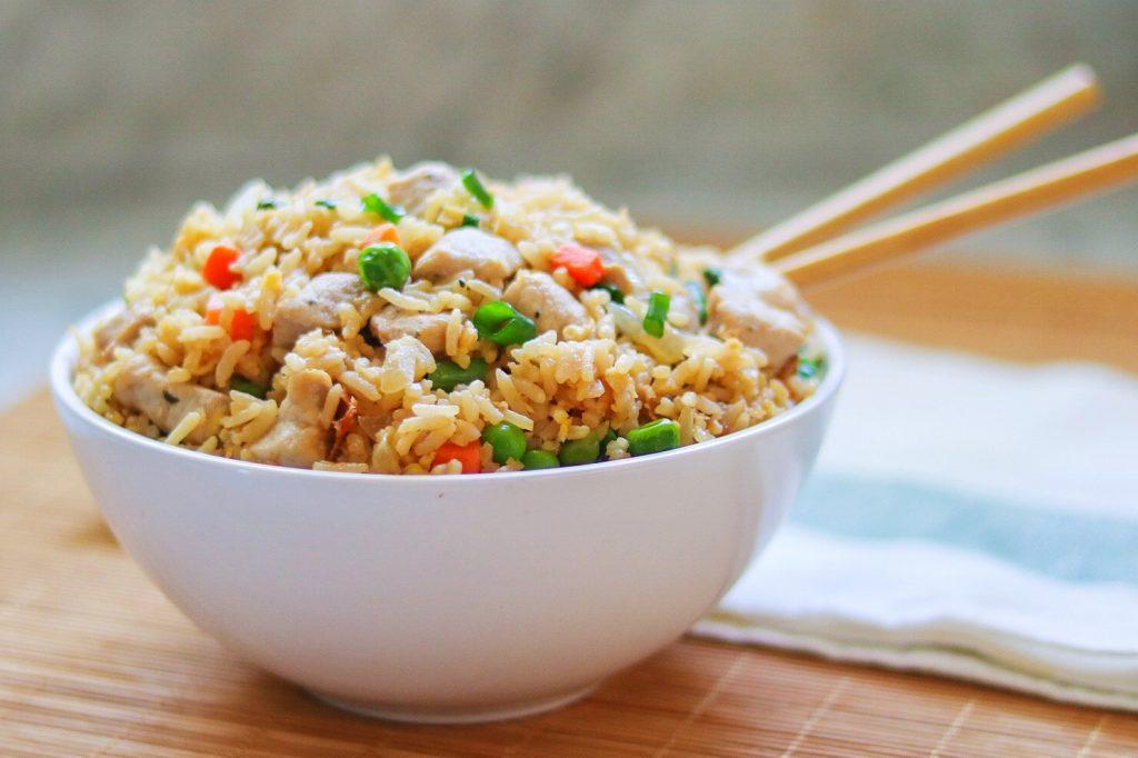 20-minute pork fried rice
