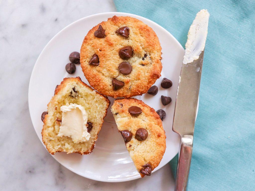 gluten-free chocolate chip muffins reci[e