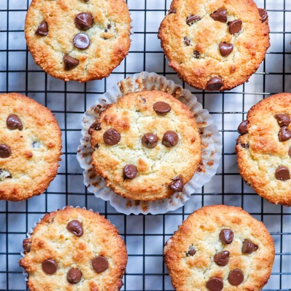 Gluten-Free Chocolate Chip Muffins recipe from Fab Everyday
