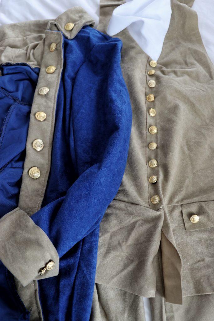 DIY Hamilton costume
