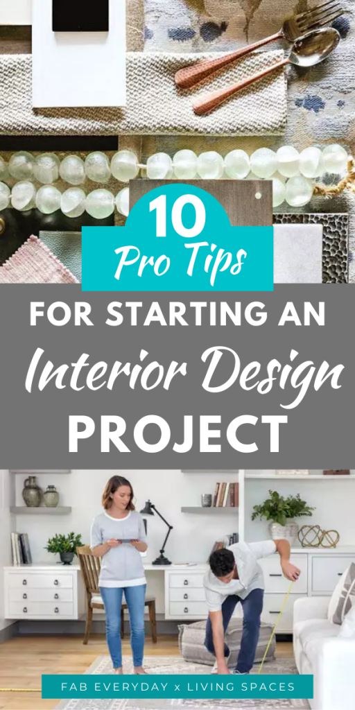 How to start an interior design project: Planning advice from pros