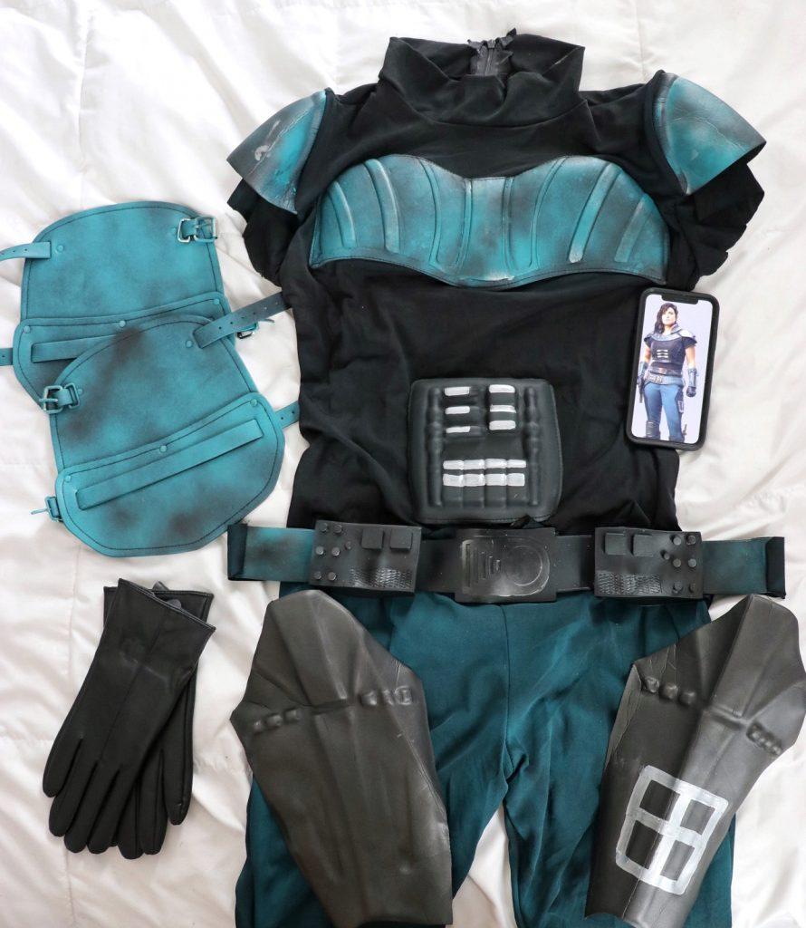 Cara Dune costume DIY instructions