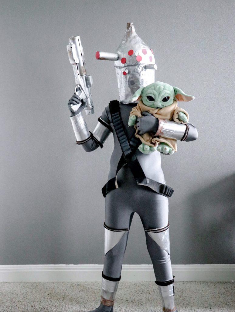 Bounty and nurse droid IG-11 Halloween costume