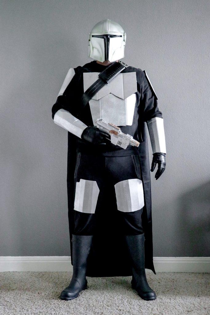 DIY Mandalorian costume