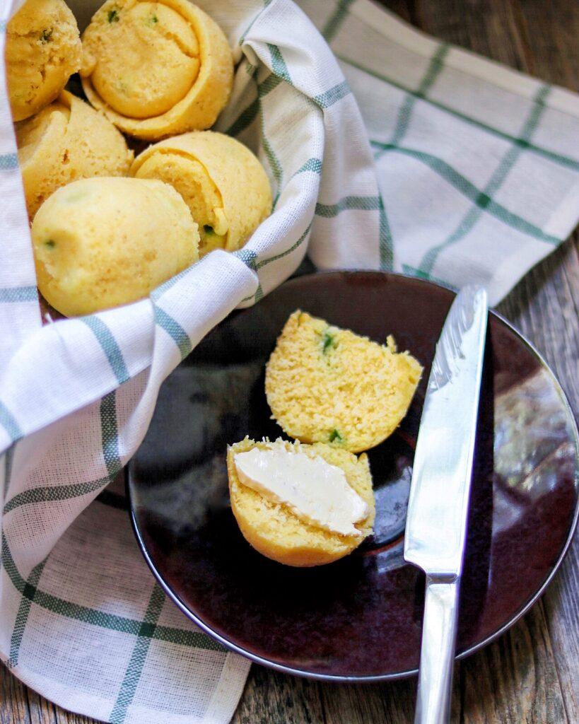 Instant Pot Cornbread Muffins recipe