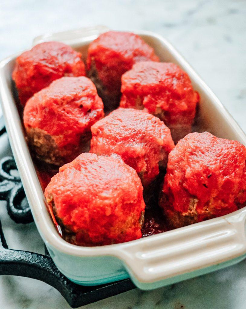Instant Pot mini meatloaf