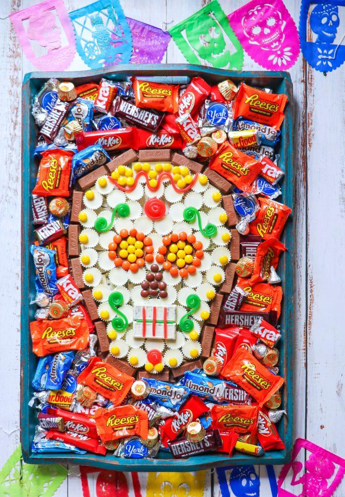 Día de Muertos candy board