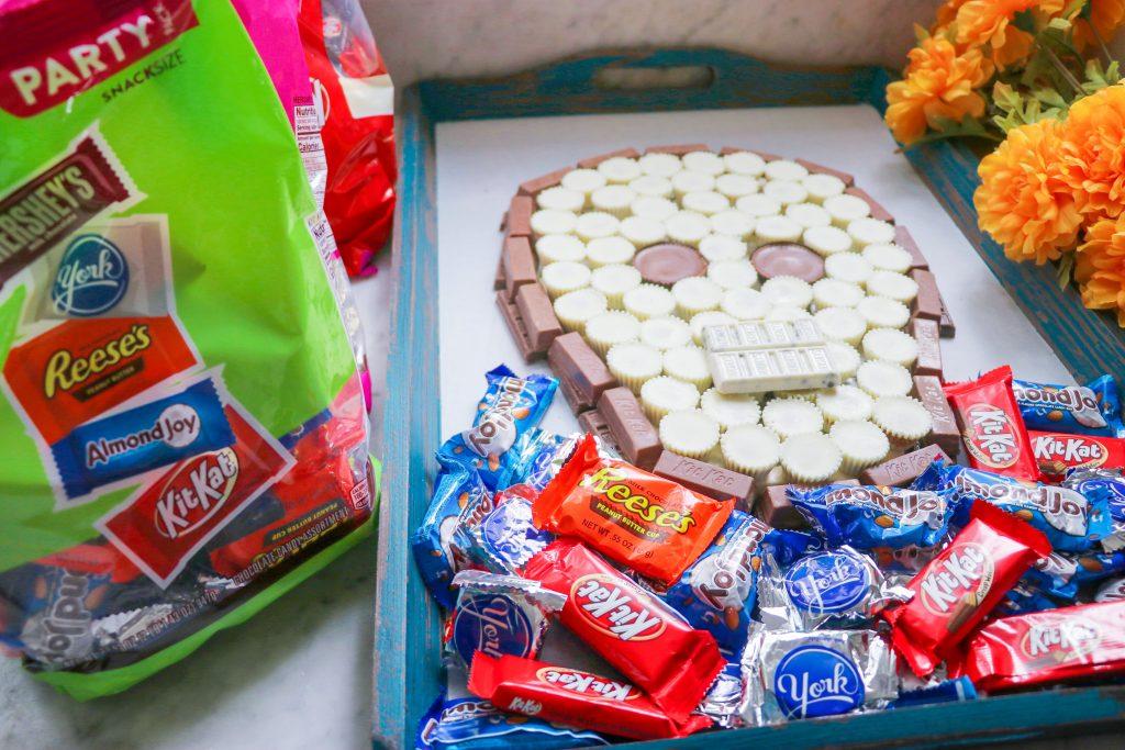 How to make a Día de Muertos candy board