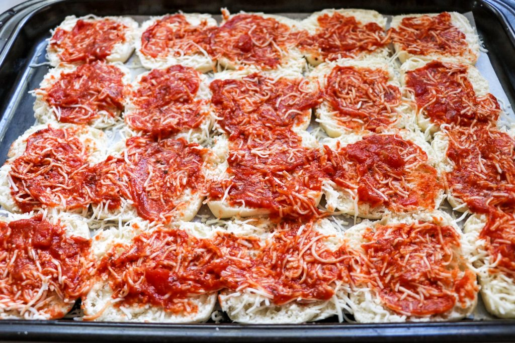 Pull Apart Pizza Rolls recipe