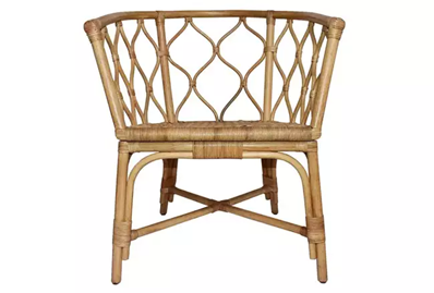 2021 home decor trends: rattan furniture