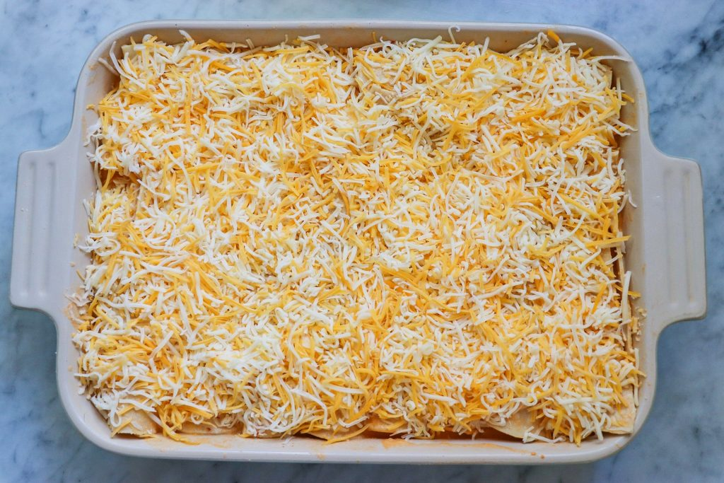 recipe for chicken enchiladas with creamy chipotle sauce