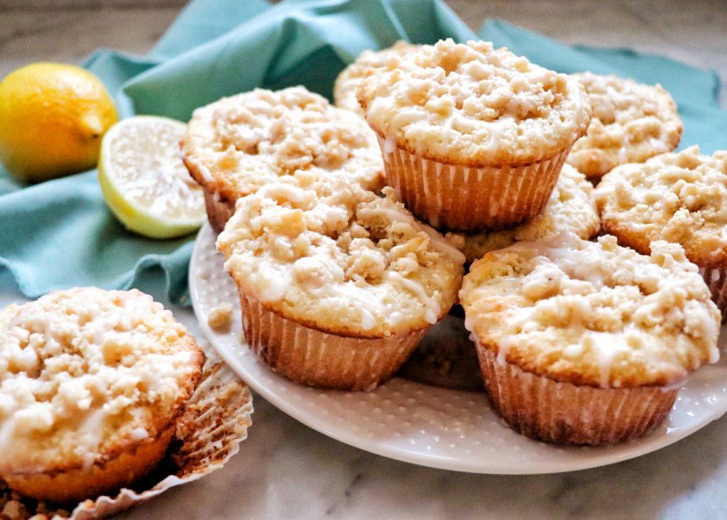 almond flour lemon muffins