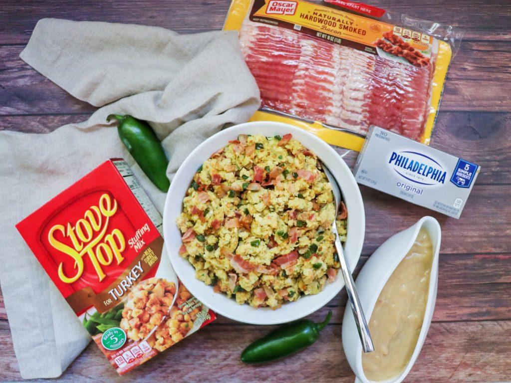 Jalapeño Popper Stuffing Recipe