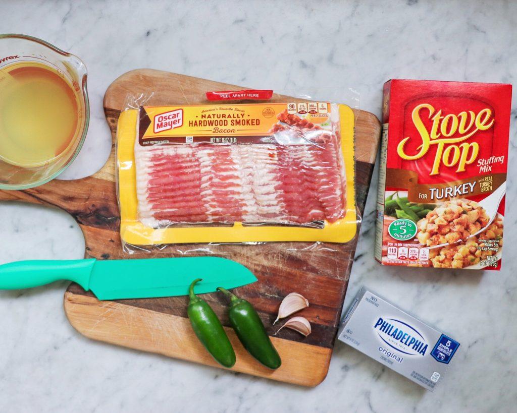 How to make Jalapeño Popper Stuffing
