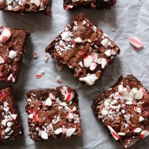 Candy Cane Brownies Recipe