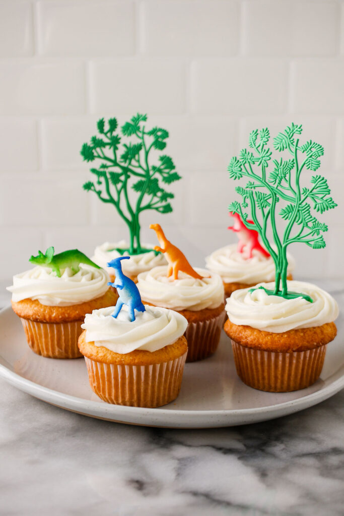 fun birthday cupcake ideas - small toy cupcake toppers