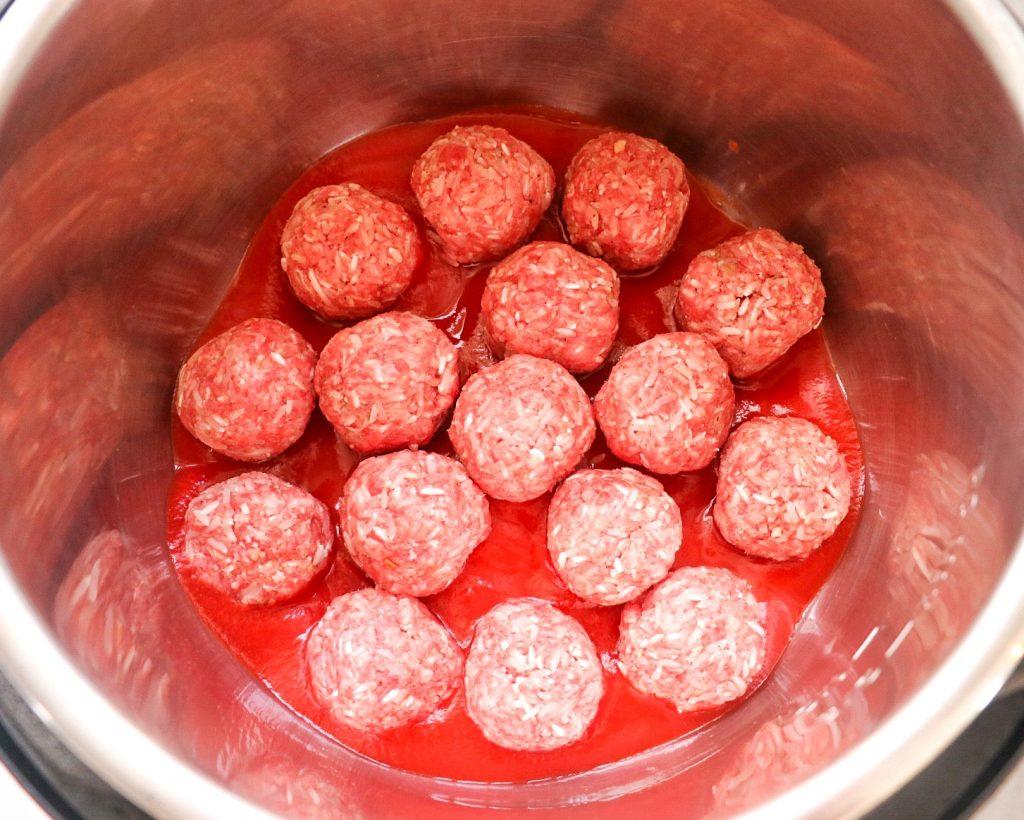 porcupine meatballs recipe for Instant Pot