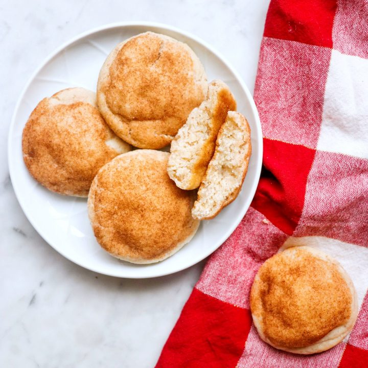 Vegan Snickerdoodles (dairy-free snickerdoodles recipe)