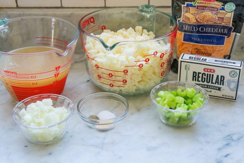 cheesy potato soup Instant Pot