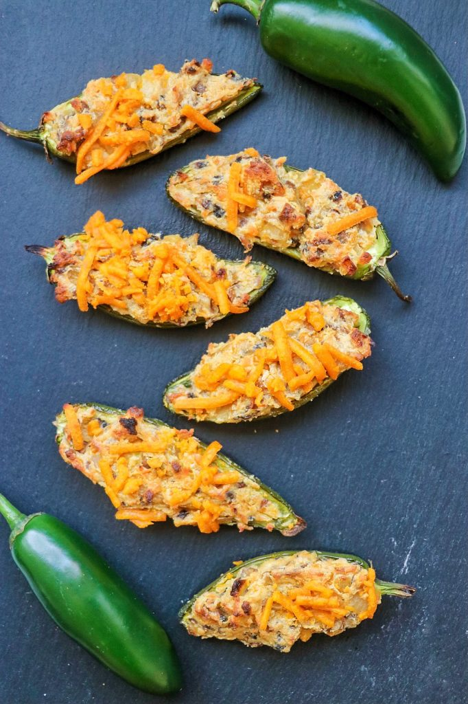 how to make jalapeno poppers vegan