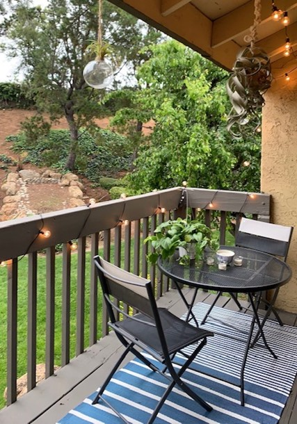 designing an outdoor living space