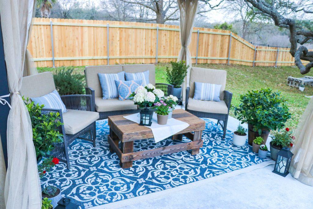 cheap DIY backyard ideas