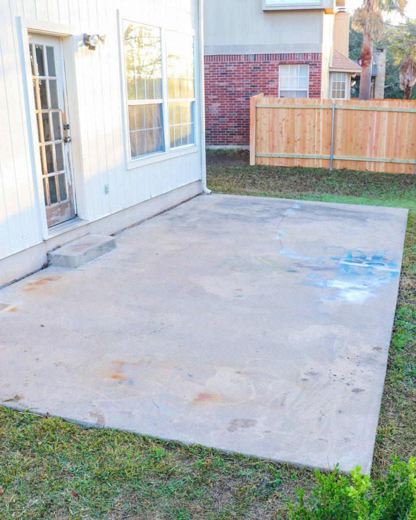 concrete resurfacing (before)